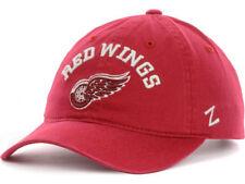 DETROIT RED WINGS ZEPHYR NHL CENTERPIECE TEAM LOGO SLOUCH HOCKEY CAP/HAT