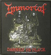"Immortal écusson/patch ""fascination in Black"""