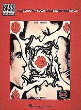 Red Hot Chili Peppers Blood Sugar Sex Magik Magic Bass Guitar TAB Music Book