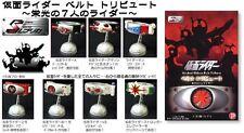 Popy S Replica Kamen Mask Masked Rider Belt Tribute Volume 1 Full Set of 8 New