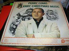 Perry Como-Merry Christmas Music-LP-Pickwick-CAS 660-Shrink-Vinyl Record-VG+