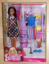 Barbie mode Set & Poupée fff60 Nouveau/Neuf dans sa boîte Fashion
