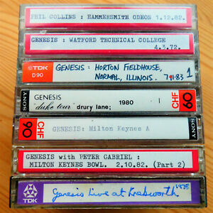 Genesis & Phil Collins Live Tapes 1972 - 1983 [FREE UK P&P]