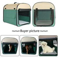 L XL Outdoor Portable Pet Dog Cat Crate Kennel for Travel Training Home US Fast