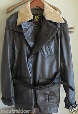 New BELSTAFF AVIATOR MOVIE XXL Jacket Antique Brown VERY RARE MODEL