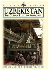 Uzbekistan: The Golden Road to Samarkand (Odyssey Illustrated Guide)-ExLibrary