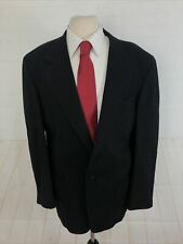 Oscar de la Renta Men's Black Blazer 43L  $1098