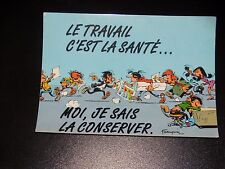 CARTE POSTALE - GASTON LAGAFFE - FRANQUIN - Ed  DALIX - 1989 - N° 25