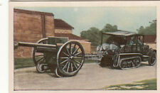 N°45 French Transport  field guns Tractors World War Germany WWI 30s CHROMO