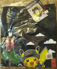 More details for pokemon center london pikachu apparel navy t-shirt with tag freepost adult small