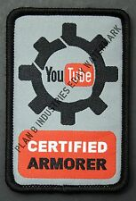 Youtube Certified Armorer Tactical Morale Patch