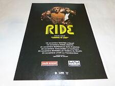 RIDE - CARNIVAL OF LIGHT!!!!!!!!!!!!!PUBLICITE / ADVERT