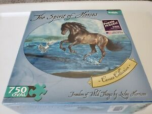 Buffalo Games Puzzle 750 Pieces The Spirit Of Horses