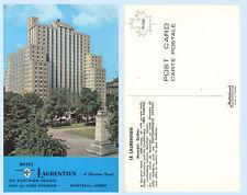 Hotel Laurentien Sheraton Montréal Quebec Canada Poster Postcard