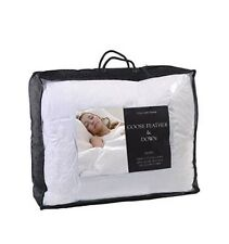 Cascade Home Luxury Goose Feather & Down Duvet Single Bed 13.5 tog