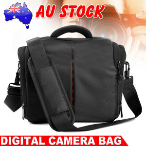 DSLR SLR Lens Camera Bag Shoulder Carry Case Shockproof For Nikon Sony Canon EOS
