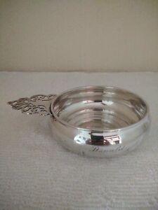 Sterling Silver Porringer, 132.5 Grams