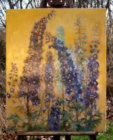 Hans Böhme (1905-1982) exzellentes Ölgemälde Stillleben Blumen Künstlerarbeit