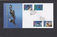 Norfolk I 2013 Motorcycles Trans Tasman FMX Challenge First Day Cover FDC