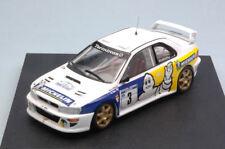 Subaru Impreza Wrc #3 2nd Tulip Rally 1998 B. De Jong / T. Hillen 1:43 Model