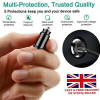 Fast 2 Dual Usb Car Charger Power Cigarette Lighter Adapter Universal