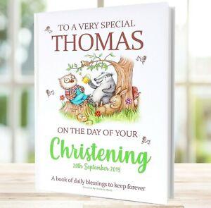 Christening Gift Book of Blessings Made Especially for Christenings HARDBACK