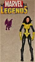 Marvel Legends Giant Man BAF Figure Series Kitty Pryde Shadowcat & Lockheed Lot