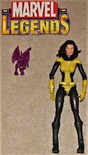 Marvel Legends Giant Man BAF Figure Series Kitty Pryde Shadowcat & Lockheed Lot