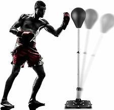 Punching Bag Reflex Boxing Bag Freestanding Punching Ball with Stand Speed Bag #