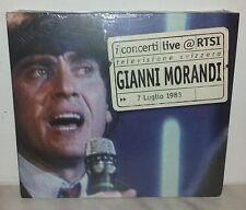 CD GIANNI MORANDI - LIVE AT RTSI - NUOVO - NEW