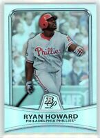 2010 Bowman Platinum REFRACTOR #62 RYAN HOWARD (Phillies) *755/999 NM