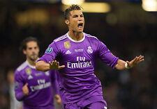 Christiano Ronaldo Champions League Real Madrid Unsigned 8x10 Photo #2