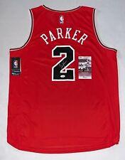 Jabari Parker signed Chicago Bulls Fanatics Branded Fast Break jersey JSA