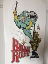 G&S BILLY RUFF WIZARD reissue DECK ONLY in WHITE