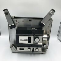 Vintage Super Bell Howell Autoload Projector 482 8mm Prop Movies Missing a Knob.