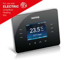 Warmup 3ie TouchScreen Digital Thermostat with Energy Management - Piano Black