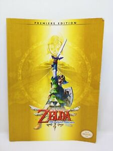 The Legend Of Zelda Skyward Sword Guide Book Premiere Edition No Map