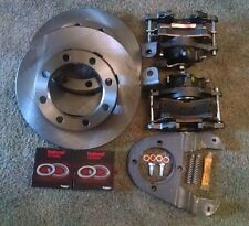 GM 14 bolt complete disc brake conversion kit 10.5 SRW emergency brake calipers