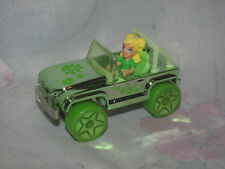 2006 Mattel Polly Pocket Wheels Car #32 Green Dream w/ Driver - Colourful Cruise