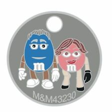 Pathtag  6041 -  M & M's  -geocaching/geocoin *Retired- Original Back*