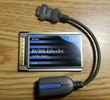 IBM 10/100 EtherJet CardBus Adapter Ethernet Network PC Card (08L3148) + Cable