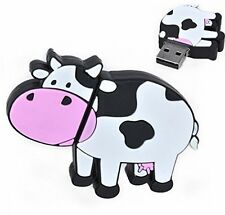 FEBNISCTE 8GB Cartoon Cow USB Flash Drive