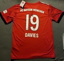 Alphonso Davies Signed Bayern Munich Adidas Jersey Size L Autographed COA