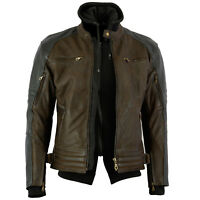 NEW MENS PREMIUM NUBUCK LEATHER JACKET WITH REMOVABLE HOODIE SONS ANARCHY SALE $
