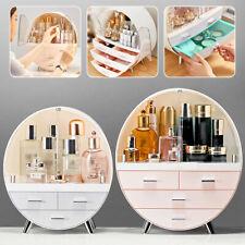 Women Jewelry Box Organizer Holder Cosmetic Case Makeup Brush Storage Drawer
