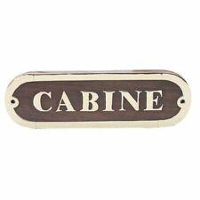 Panneau pour Porte Laiton Bois Noble, Cabine, Maritime Cabines