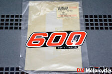 YAMAHA GENUINE NOS XT600 XT 600 1986 SIDE COVER DECAL PN 43F-21781-10