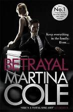 Betrayal, Cole, Martina, Very Good condition, Book