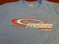 BALBOA PARK FRISBEE CHALLENGE SAN DIEGO CA  Caribbean Joe  Blue T-Shirt  XL  L23