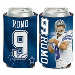 Dallas Cowboys Tony Romo Can Cooler (NEW) Coozie Koozie Holder Drink